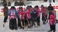 Ветеранов хоккея с мячом поздравили с 23 февраля!